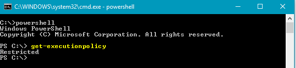 How to Verify the Existing PowerShell Execution Policy Setting