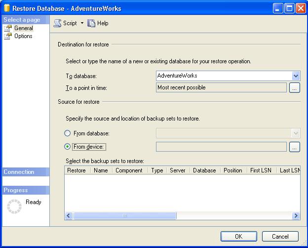 How to Restore Database Using SQL Server Management Studio