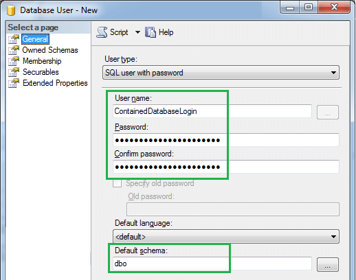 How to Create New SQL Server User