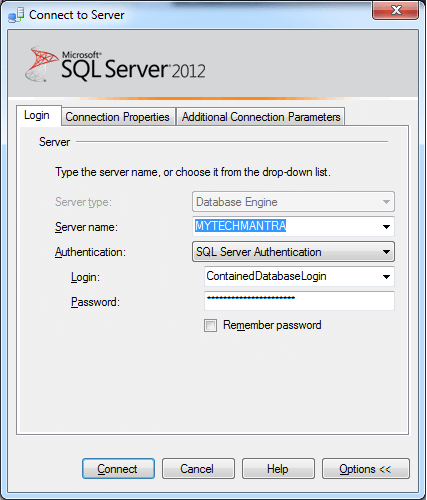 How to Connect to a Database in SQL Server